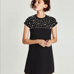 Neverworn! Zara Pearl Sweater Dress